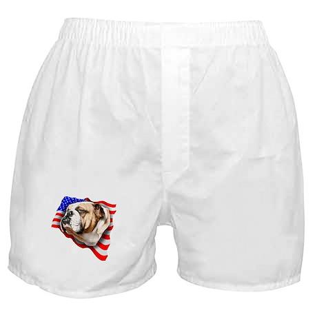 Bulldog Patriot Boxer Shorts