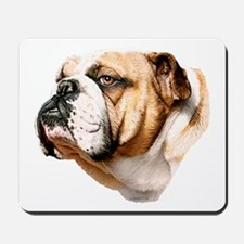 Bulldog Bust Mousepad