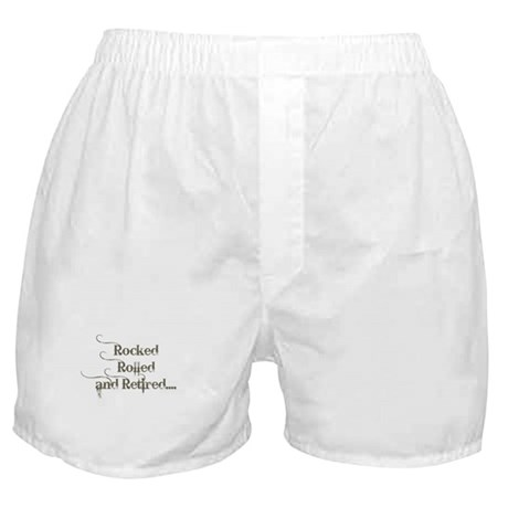 Rocked, Rolled and Retired Boxer Shorts