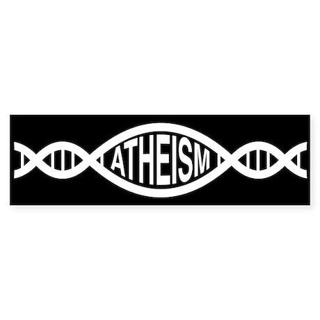 Atheism Dna Bumper Sticker