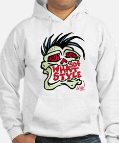 504 WHAT STYLE MOHAWK SKULL Hoodie
