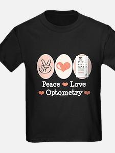 Peace Love Optometry Eye Chart T