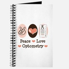 Peace Love Optometry Eye Chart Journal