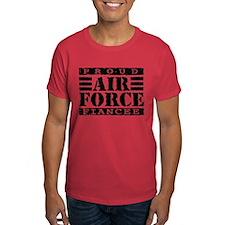 Proud Air Force Fiancee T-Shirt