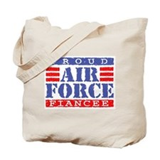 Proud Air Force Fiancee Tote Bag