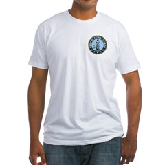 Masonic Army National Guard Fitted T-Shirt