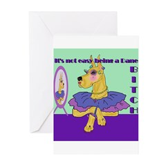 Great Dane Bitch Greeting Cards (Pk of 20)