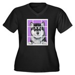 How much is that Mal Puppy in Women's Plus Size V-