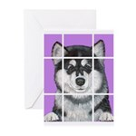 How much is that Mal Puppy in Greeting Cards (Pk o