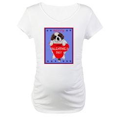 Valentine Saint Bernard Shirt