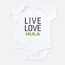 Live Love Hula Infant Bodysuit