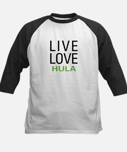 Live Love Hula Kids Baseball Jersey