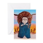 Chief Standing Bull Greeting Cards (Pk of 20)
