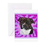 American Staffordshire Greeting Cards (Pk of 20)