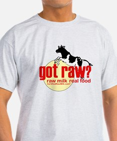 Raw Milk, Real Food T-Shirt