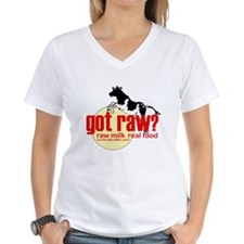 Raw Milk, Real Food Shirt