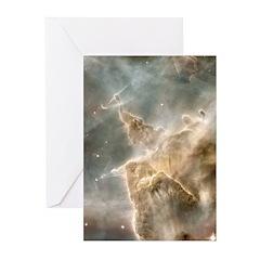 God's spear nebula Greeting Cards (Pk of 20)