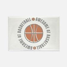 Awesome at Basketball Rectangle Magnet