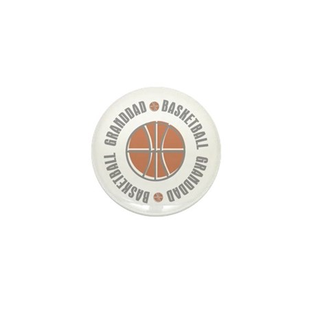 Basketball Granddad Mini Button (10 pack)