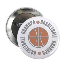 "Basketball Grandpa 2.25"" Button"