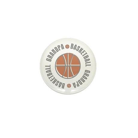 Basketball Grandpa Mini Button (100 pack)