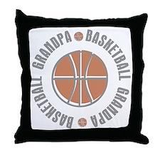 Basketball Grandpa Throw Pillow