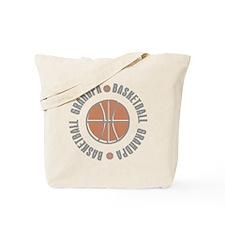 Basketball Grandpa Tote Bag