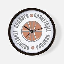 Basketball Grandpa Wall Clock