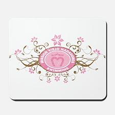 MVN Logo Flower Mousepad