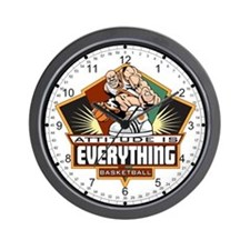 Attitude Basketball Wall Clock