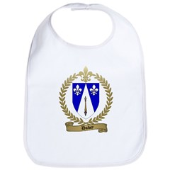 DUBEY Family Crest Bib
