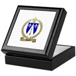 DUBEY Family Crest Keepsake Box