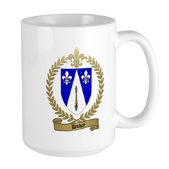 DUBEY Family Crest Large Mug