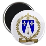 "DUBEY Family Crest 2.25"" Magnet (100 pack)"