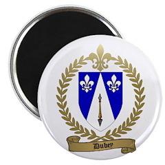 "DUBEY Family Crest 2.25"" Magnet (100 pack)"