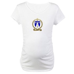 DUBEY Family Crest Maternity T-Shirt