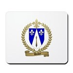 DUBEY Family Crest Mousepad