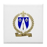 DUBEY Family Crest Tile Coaster