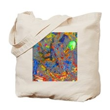 Jeweled Frog Tote Bag