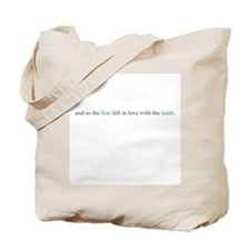 And So The Lion Tote Bag