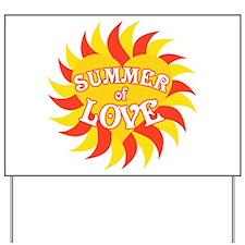 Summer Of Love Yard Sign