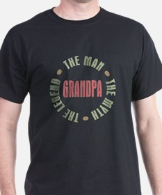 Grandpa Man Myth Legend T-Shirt