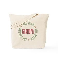 Grandpa Man Myth Legend Tote Bag