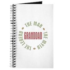 GrandDad Man Myth Legend Journal