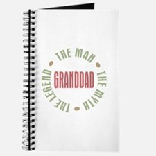 GrandDad Man Myth Legend Journal