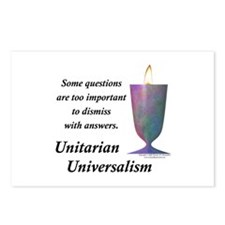 UUF Questions Postcards (Package of 8)