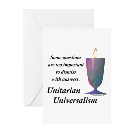 UUF Questions Greeting Cards (Pk of 10)