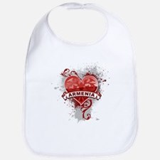 Heart Armenia Bib