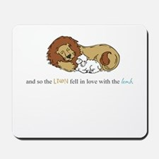 And So the Lion #3 Mousepad
