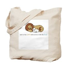 And So the Lion #3 Tote Bag